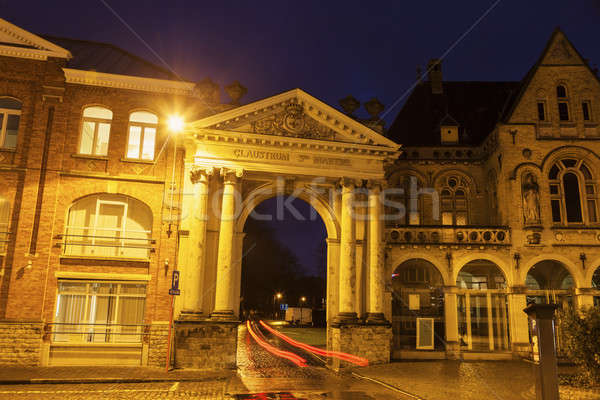 Arch in Ypres Stock photo © benkrut