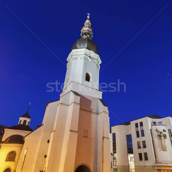 St. Vaclav Church in Ostrava Stock photo © benkrut