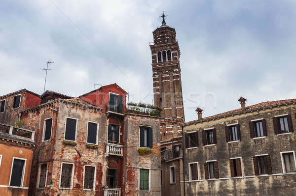Leaning Tower of Venice Stock photo © benkrut