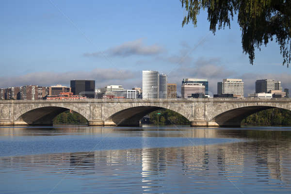 Rosslyn, Virginia and Potomac River Stock photo © benkrut