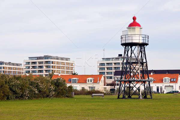 Hoek van Holland - small lighthouse  Stock photo © benkrut