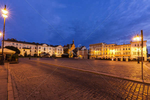 Old town square in Bydgoszcz Stock photo © benkrut