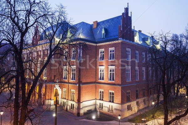 Jagiellonian University building Stock photo © benkrut