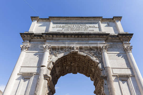 Arch of Constantine Stock photo © benkrut