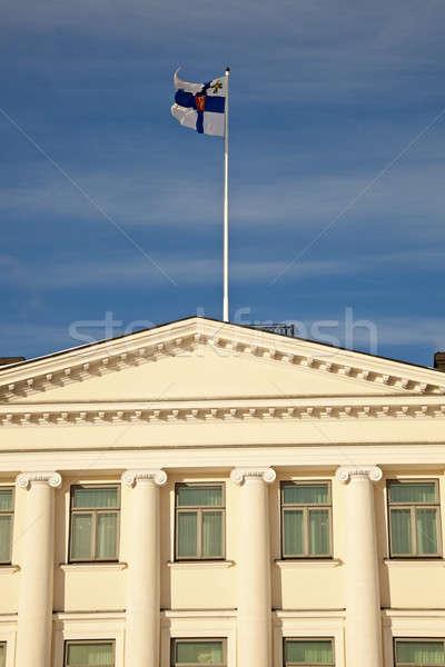 Presidencial palácio Helsinque Finlândia Foto stock © benkrut