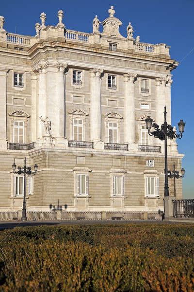 Palacio Real in Madrid  Stock photo © benkrut
