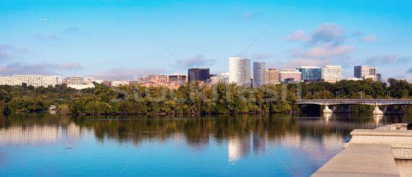 Downtown of Arlington, Virginia and Potomac River Stock photo © benkrut