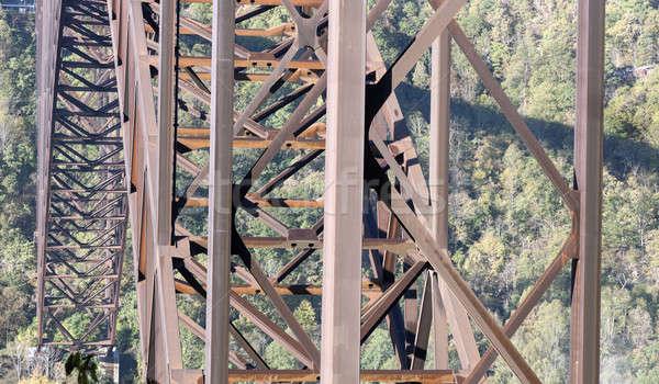 Novo rio ponte West Virginia Foto stock © benkrut