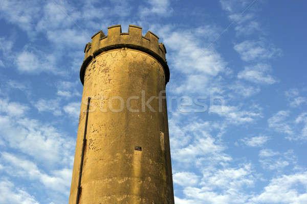 古い 塔 ニューカッスル センター 空 ストックフォト © benkrut