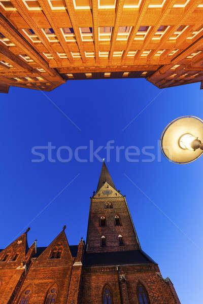 Architecutre of Hamburg Stock photo © benkrut