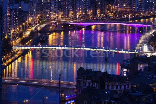 Bridges of Liege Stock photo © benkrut