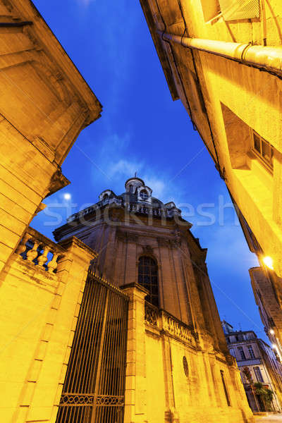 Old architecture of Montpellier Stock photo © benkrut