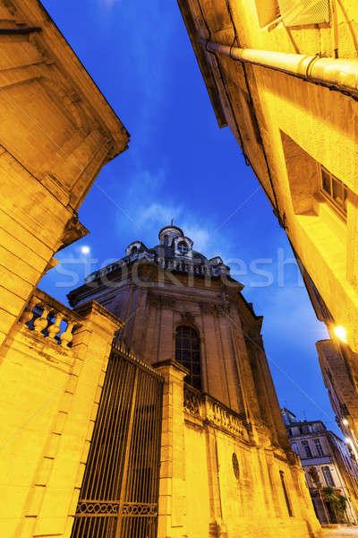 Arhitectura veche constructii albastru călători orizont Europa Imagine de stoc © benkrut