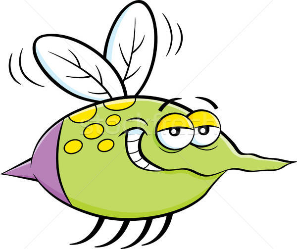 Cartoon Flying Insect Stock photo © bennerdesign