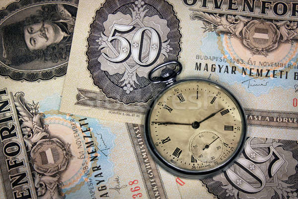 Hungarian time is money Stock photo © berczy04