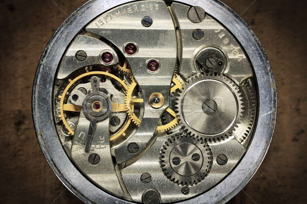 Pocket watch inside russian Stock photo © berczy04