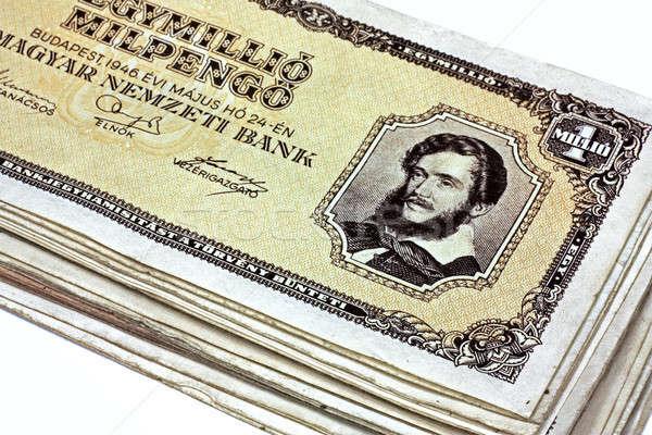 Old Hungarian one million pengo Stock photo © berczy04