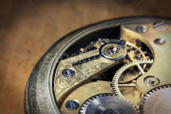 Pocket watch inside close Stock photo © berczy04