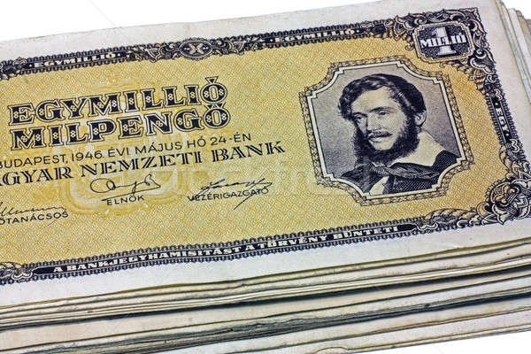 Old Hungarian one million pengo Stock photo © berczy04