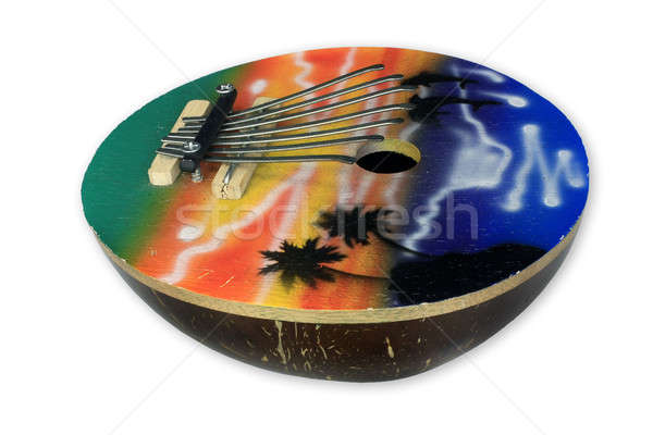 Thumb piano spiritual instruments Stock photo © berczy04