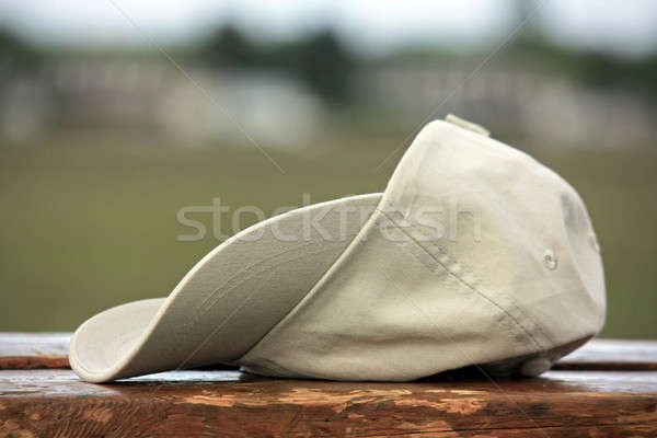 Baseball hat on wooden Stock photo © berczy04