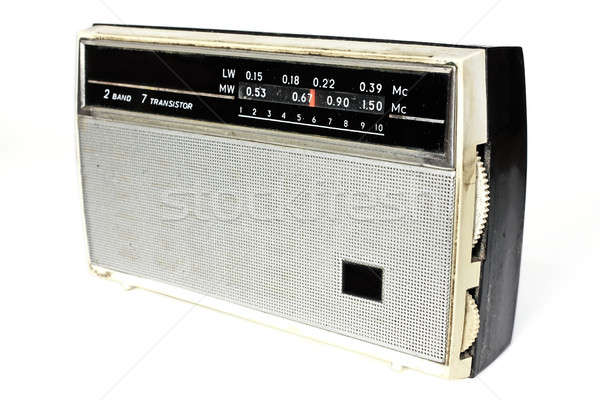 Old russian radio Stock photo © berczy04