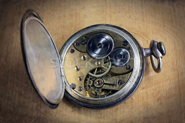 Pocket watch inside Stock photo © berczy04