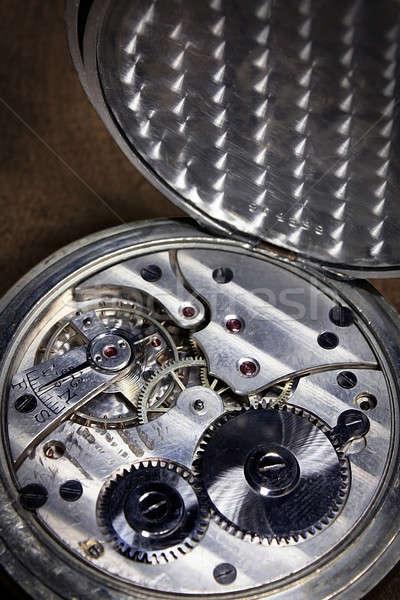 Pocket watch inside Stock photo © berczy04