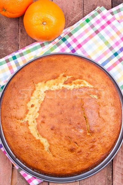 orange cake Stock photo © bernashafo