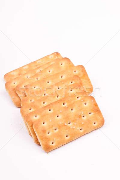 Biscuit biscuits partij brood eten object Stockfoto © bernashafo