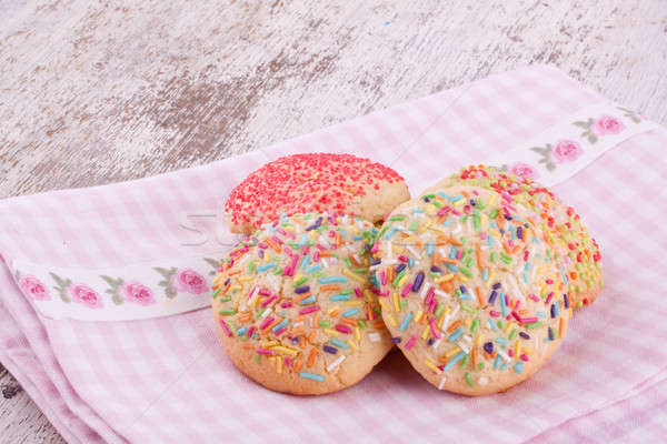 Stock photo: sugar sprinkles