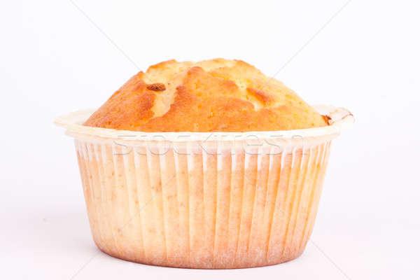 Limon çörek beyaz kek kahvaltı tatlı Stok fotoğraf © bernashafo