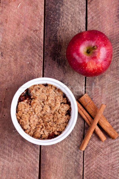 Apple crumble Stock photo © bernashafo