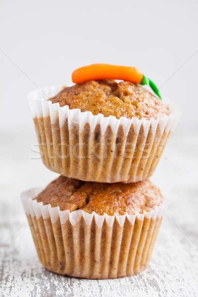 carrot muffin Stock photo © bernashafo