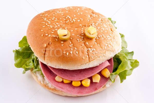 sandwich for kids Stock photo © bernashafo