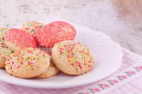 Stock photo: sugar sprinkles