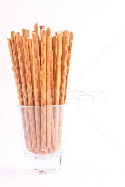 Stick Essen Brot Essen weiß Objekt Stock foto © bernashafo