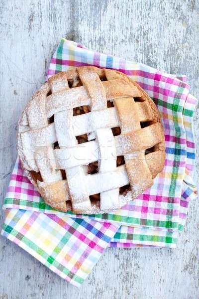яблоко продовольствие фон таблице Сток-фото © bernashafo