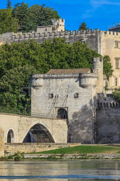 Avignon Bridge, Pont Saint-Bénezet, Provence, France Stock photo © Bertl123