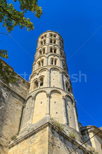 Uzes, Fenestrelle Tower, Cathedral of St. Theodore, Languedoc Ro Stock photo © Bertl123