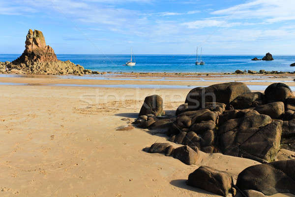 Beauport Beach, Jersey, Channel Islands, UK Stock photo © Bertl123