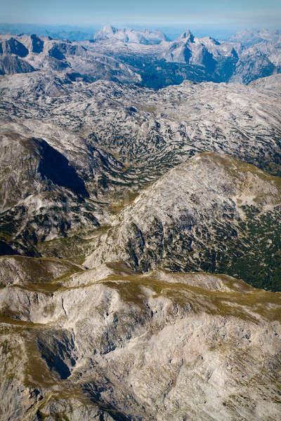 アルプス山脈 夏 参照してください 風景 ストックフォト © Bertl123