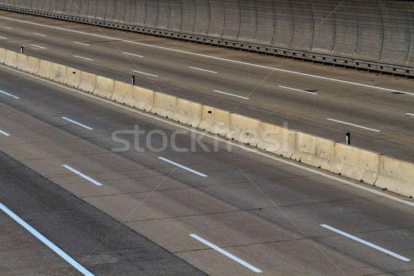 Empty motor way lanes Stock photo © Bertl123