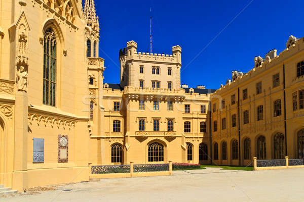 Stock photo: Lednice palace, Unesco World Heritage Site, Czech Republic