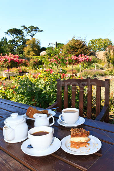 Bahçe çay İngilizce beş bahar gıda Stok fotoğraf © Bertl123