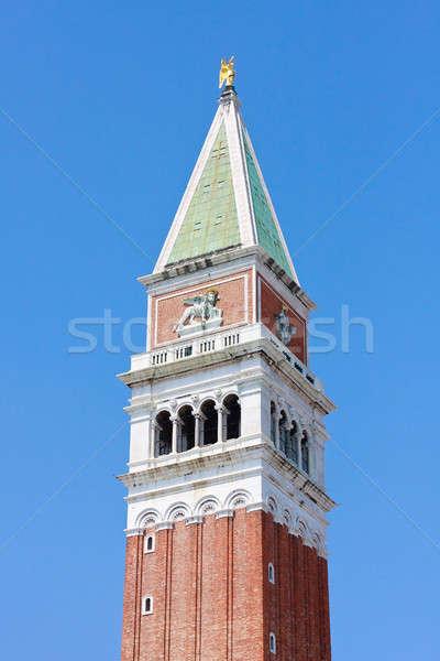 Campanile Top, San Marco, Venice, Italy Stock photo © Bertl123