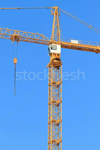 Crane with winch Stock photo © Bertl123