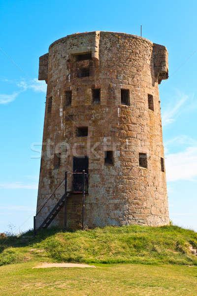 Le Hocq, Jersey Coastal Tower Stock photo © Bertl123