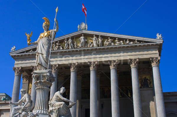 Austrian Parliament in Vienna, Austria Stock photo © Bertl123