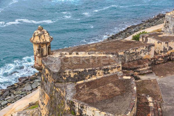 San Juan, Fort San Felipe del Morro, Puerto Rico  Stock photo © Bertl123